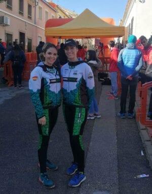 Pepa López y Teresa López en la prueba de Bullas