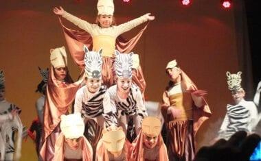"""El colegio publico San Francisco vuelve a poner en escena """"El Rey león el musical en jumillano"""""""