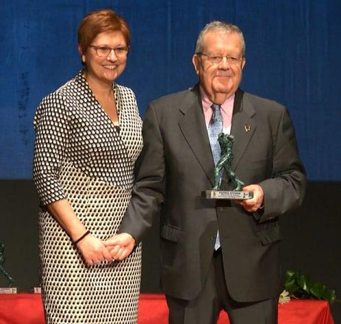 Premio al Embajador de Jumilla, Salvador Moreno