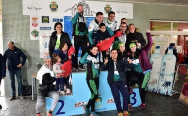 Premio al club mas numeroso para el 'Como Chotas Trail' en el VII Open Trail de Archena