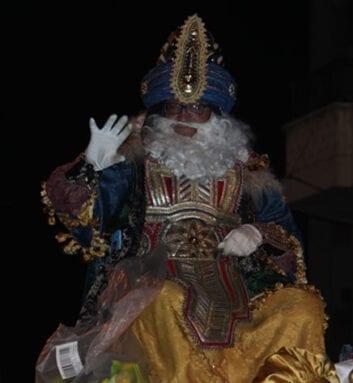 Rey Melchor Mago de Oriente