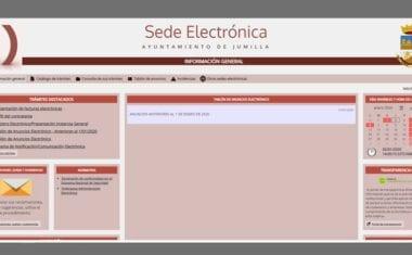 El Ayuntamiento de Jumilla pone en marcha su sede electrónica