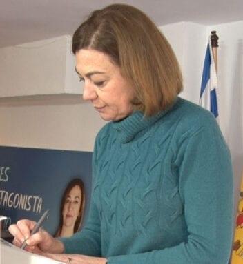 Seve González, presidenta PP Jumilla