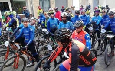 El Club Jumilla BTT tuvo a un buen número de bikers en la primera cita del Circuito Provincial de Albacete
