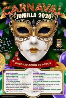 Programa actos Carnaval 2020