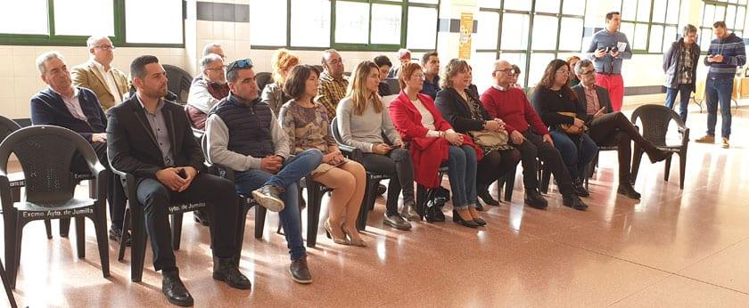 Representantes de los municipios que componen la DOP Jumilla