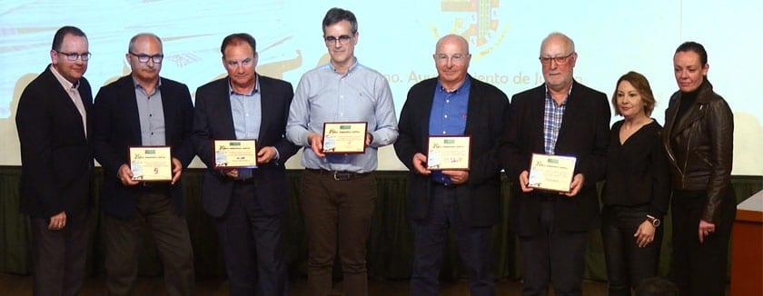Varias empresas son reconocidas en el acto conmemorativo del 20 Aniversario del Grupo Siete Días