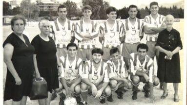 Curiosa fotografía del Jumilla Fútbol Club