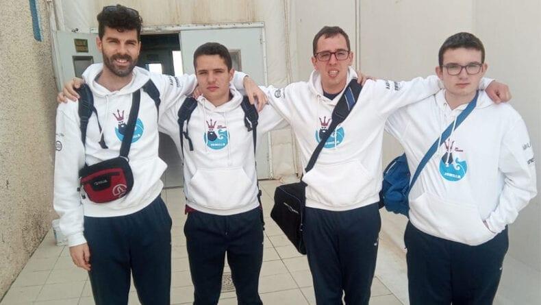 El Club Deportivo Aspajunide y el Club Natación jumilla presentes en el Regional de FEDEMIPS con tres nadadores