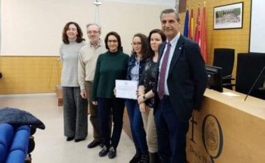 """Dos alumnos del IES Arzobispo Lozano ganan el premio del VIII Concurso de Química """"La Química en mi entorno"""""""