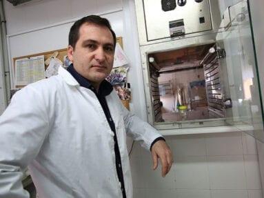 Joaquín Vicente Baños, Investigador del Instituto de Recursos Cinegéticos de Ciudad Real