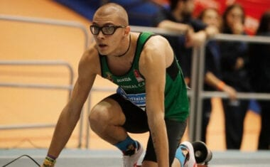 Juan González se cuelga la medalla de plata en el 34 Campeonato de España sub-23 en Pista Cubierta