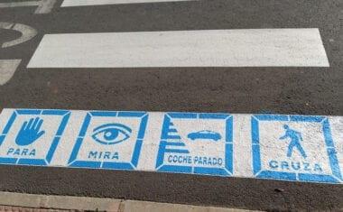 Ciudadanos Jumilla presenta una moción para la instalación de pictogramas en pasos de peatones de centros escolares