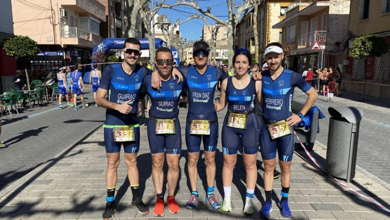 Participación del Club Triatlón Jumilla en el Duatlón de Calasparra
