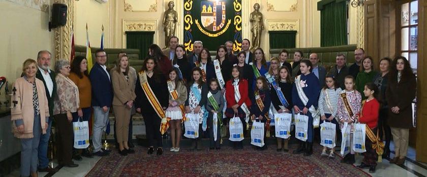 Foto oficial en el Salón de Plenos del Ayuntamiento de Jumilla