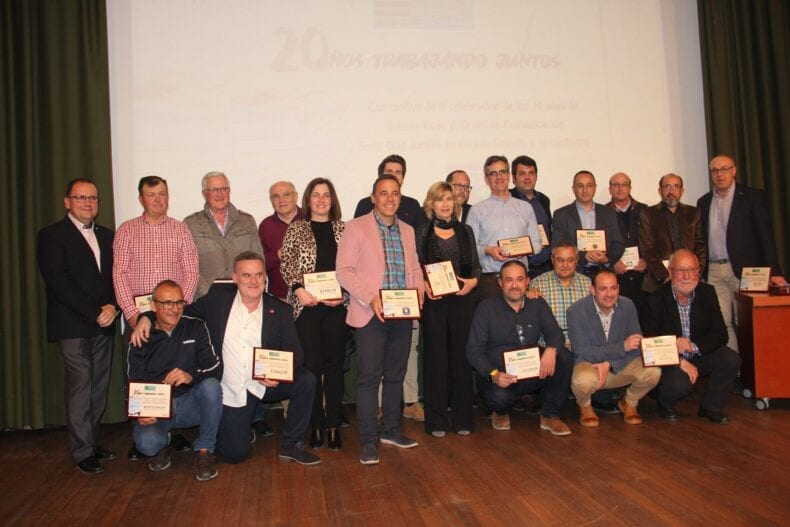Premiados 20 años de Prensa Local de Siete Dias Jumilla