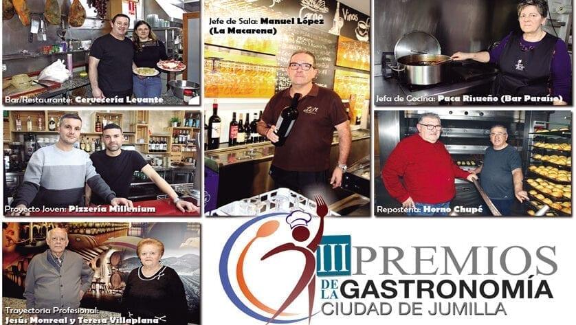 Los Premios de la Gastronomía, en su tercera edición, tienen nombres propios