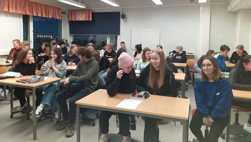 Alumnos del IES Infanta Elena realizan intercambio en Finlandia