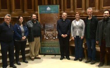 La reconstrucción del órgano de la Parroquia Mayor de Santiago ha comenzado
