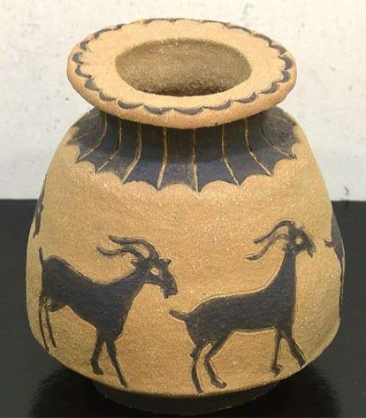Una de las piezas que se pueden ver en la exposición