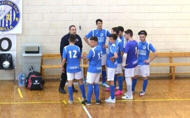 Goleada en casa para los juveniles de la Escuela de Fútbol Sala Bodegas Carchelo