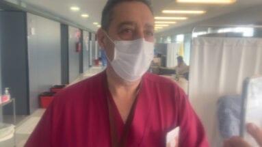 Enrique Retuerto, jefe de urgencias Hospital de Yecla
