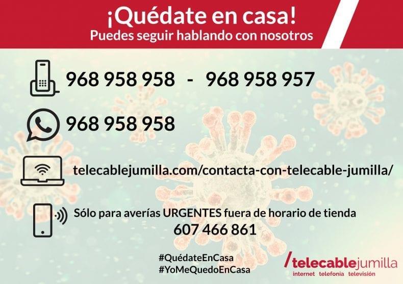 Canales telemáticos con Telecable Jumilla