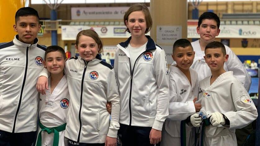 Buen debut del Club Taekwondo Jumilla en el Regional Escolar 2020 de Castilla La Mancha