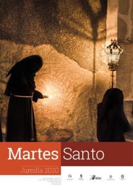 Cartel anunciador de la Procesión de Martes Santo