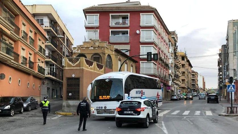 La Policía Local de Jumilla realiza controles de tráfico