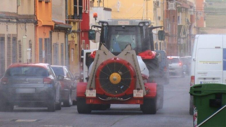 Desde el Ayuntamiento piden colaboración para que en la medida de lo posible se retiren los vehículos de las calles