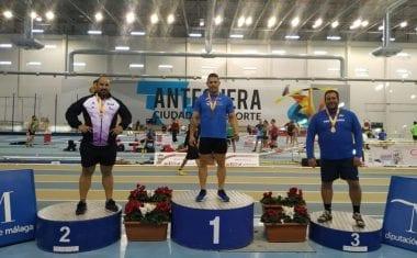 María José Escoda y Álex Barrón, del Athletic Club Vinos DOP Jumilla, se proclaman Campeones de España Máster