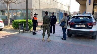 Ayuda del ejército a los cuerpos de seguridad de Jumilla