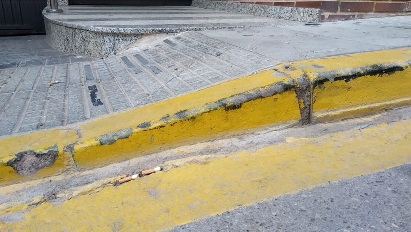 Ciudadanos Jumilla solicita la remodelación de las aceras peligrosas para evitar caídas de los vecinos