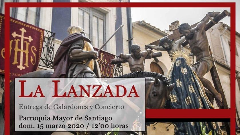 """La Cofradía Santo Costado de Cristo destaca a dos de sus hermanos con el galardón """"La Lanzada"""""""