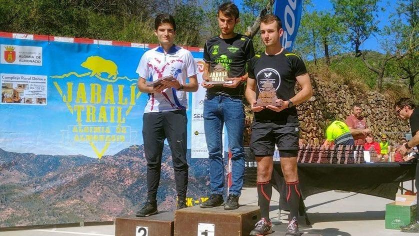 Hinneni Trail Running se dejó ver en cuatro pruebas distintas el pasado fin de semana