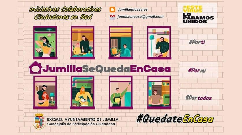 Nace jumillaencasa.es, una web donde se agrupan todas las iniciativas ciudadanas durante el Estado de Alarma
