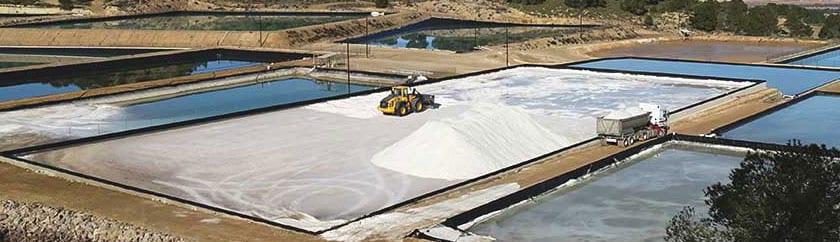La sal que se produce en Jumsal es de una excelente calidad