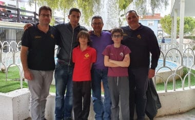 El Club Ajedrez Coimbra tuvo a un buen número de ajedrecistas en el Regional Absoluto Rápido