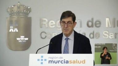 Manuel Villegas consejero de Salud