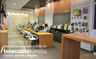 Medidas excepcionales adoptadas por Telecable Jumilla ante el COVID-19