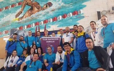 Quinto puesto para el Club Natación Jumilla en el IV Campeonato Regional Open Máster