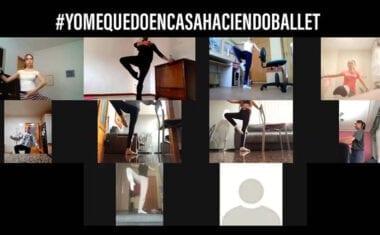 Ochoa Escuela de Ballet te invita a unirte a sus clases online