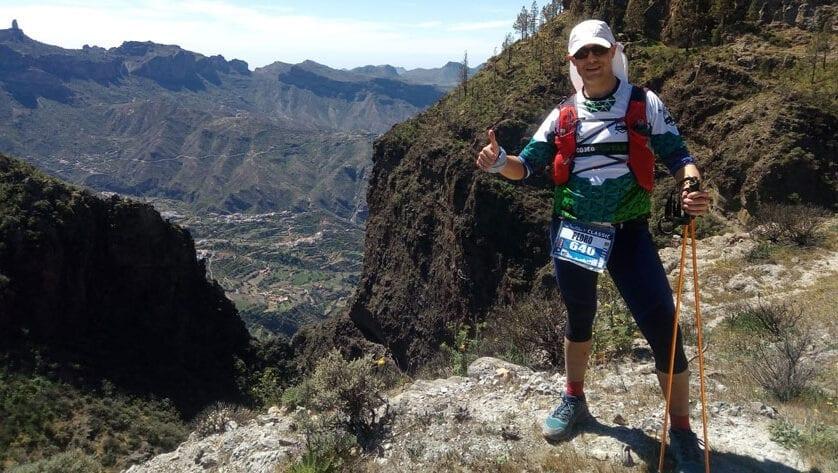 Pedro Abellán, del Como Chotas Trail, estuvo en una prueba de ultra distancia en Canarias