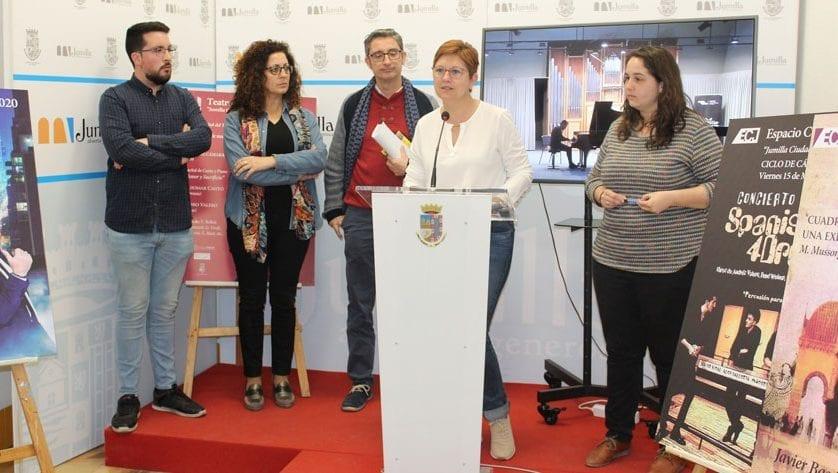 Cultura presenta el Ciclo de Cámara 2020 con el lema 'Jumilla, ciudad de la música'