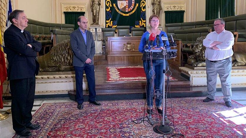 El Ayuntamiento de Jumilla y la Junta Central anuncian la suspensión de la Semana Santa de Jumilla 2020