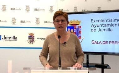 Juana Guardiola actualiza información sobre la crisis sanitaria del coronavirus en Jumilla
