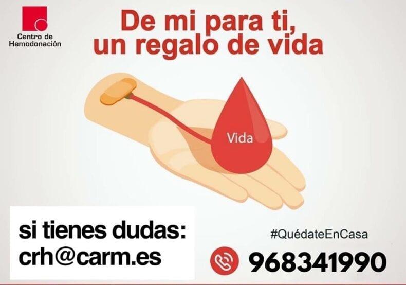 Campaña de donación de sangre en Jumilla