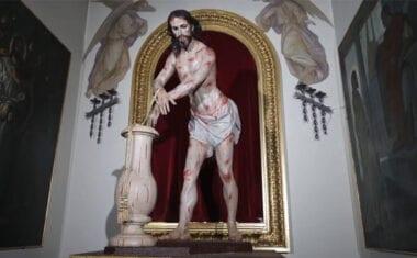 Por segundo año consecutivo no se puede realizar la Ofrenda de Flores al Cristo Amarrado a la Columna