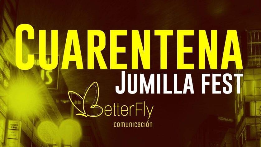 El Cuarentena Jumilla Fest junta a varios artistas locales para amenizar el confinamiento